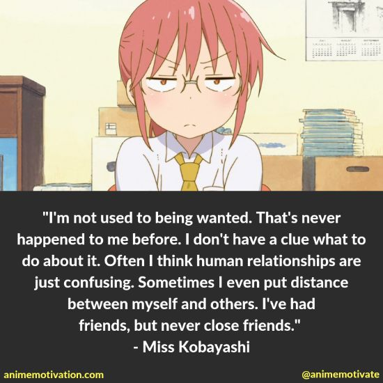 14+ Miss Kobayashi's Dragon Maid Quotes That Will Hit Anime Fans In The Feels 9
