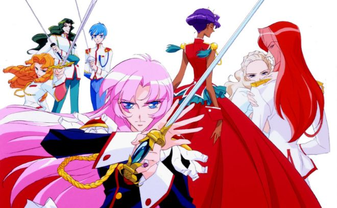 revolutionary girl utena anime old school
