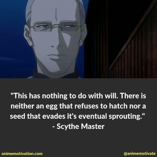 scythe master quotes
