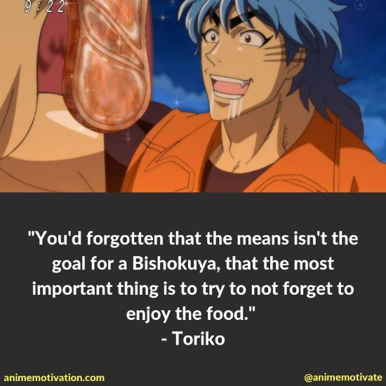 toriko quotes toriko 2