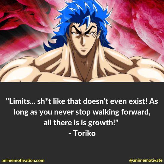 toriko quotes toriko
