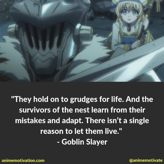 38+ Of BEST Goblin Slayer Quotes That Are Meaningful 5