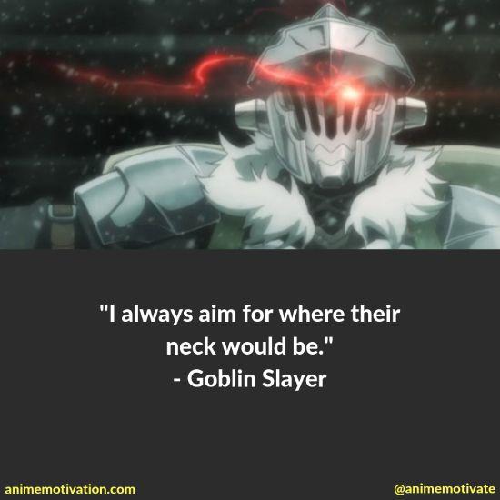 Goblin slayer quotes 3