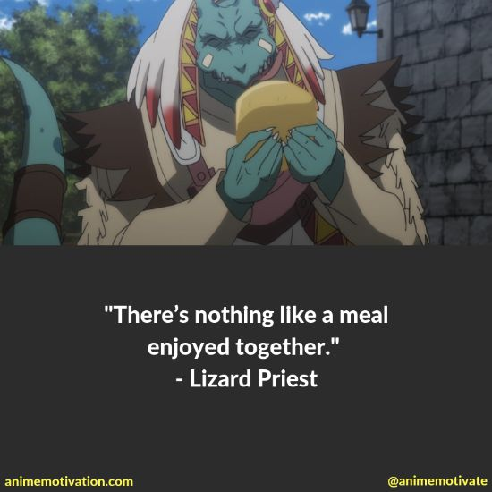 Lizard priest quotes goblin slayer 1