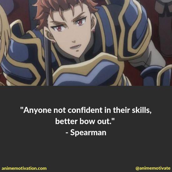 Spearman quotes goblin slayer