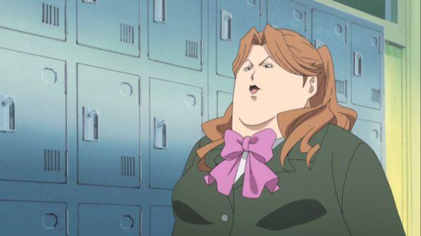 anime fat girl school