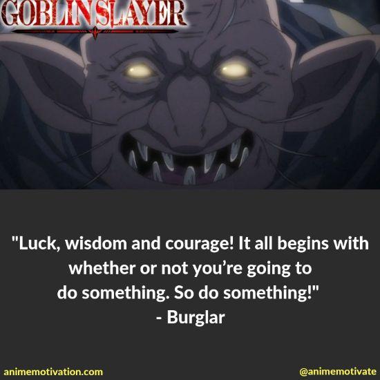 burglar quotes goblin slayer 2