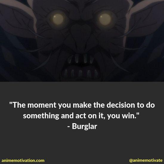 burglar quotes goblin slayer
