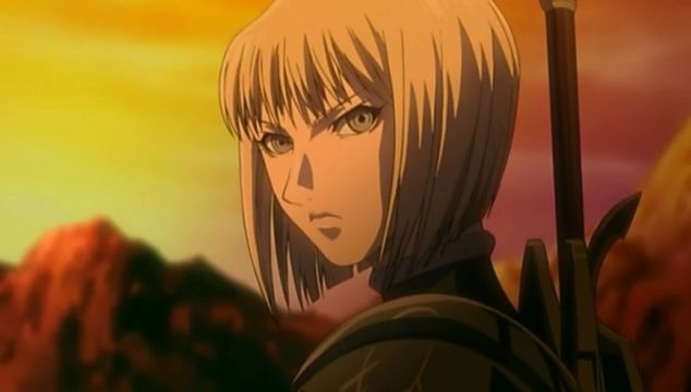 clare claymore serious