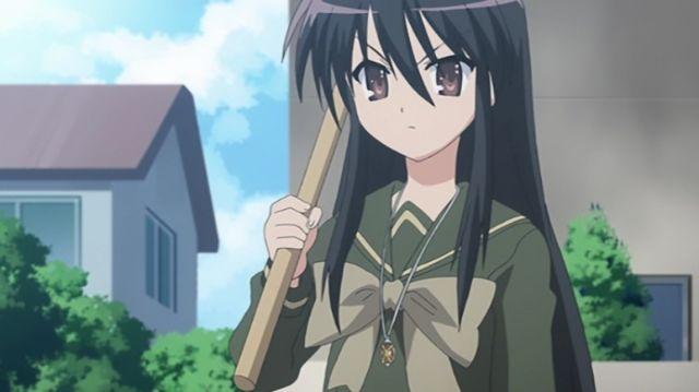 shana black hair shakugan no shana