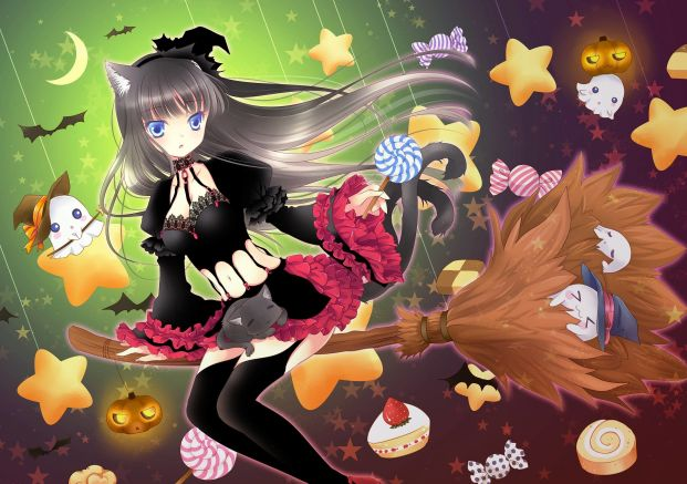 31+ Of The Best Anime Halloween Wallpapers To Make Your Day 4