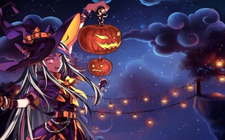 31+ Of The Best Anime Halloween Wallpapers To Make Your Day 6