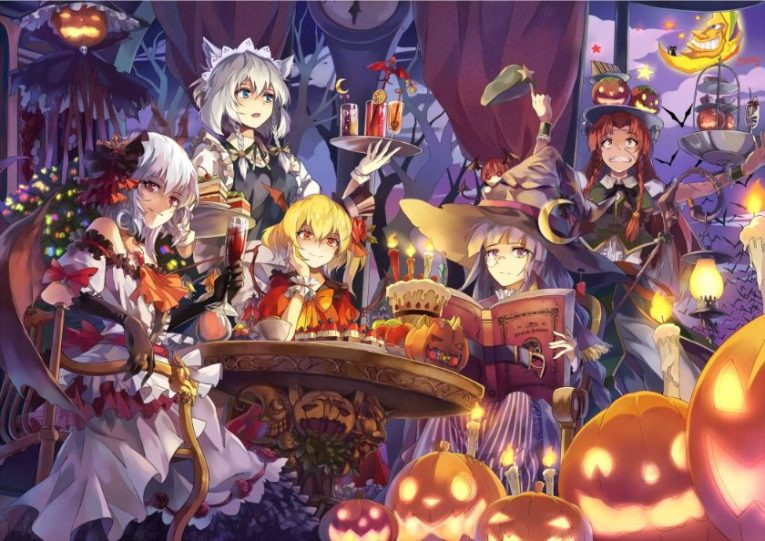 31+ Of The Best Anime Halloween Wallpapers To Make Your Day 13
