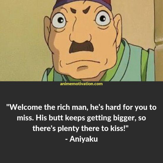 aniyaku quotes spirited away