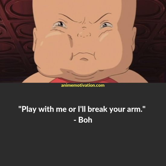 boh quotes spirited away