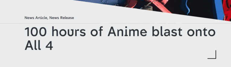 Is Anime FINALLY Being Accepted In The UK's Mainstream Media? 4