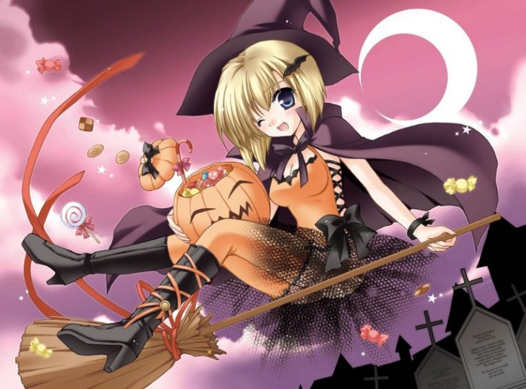 31+ Of The Best Anime Halloween Wallpapers To Make Your Day 22
