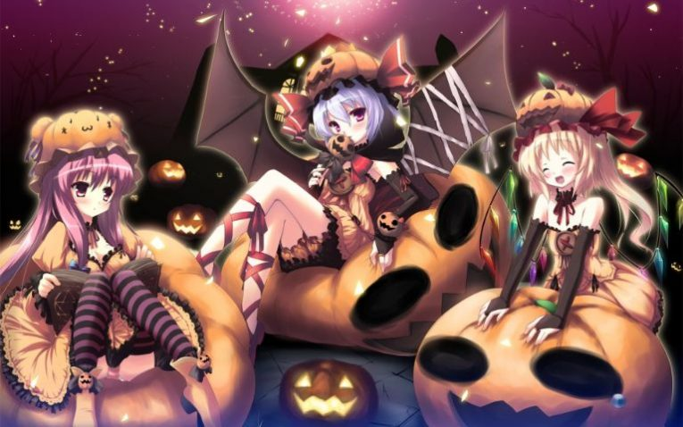 31+ Of The Best Anime Halloween Wallpapers To Make Your Day 8