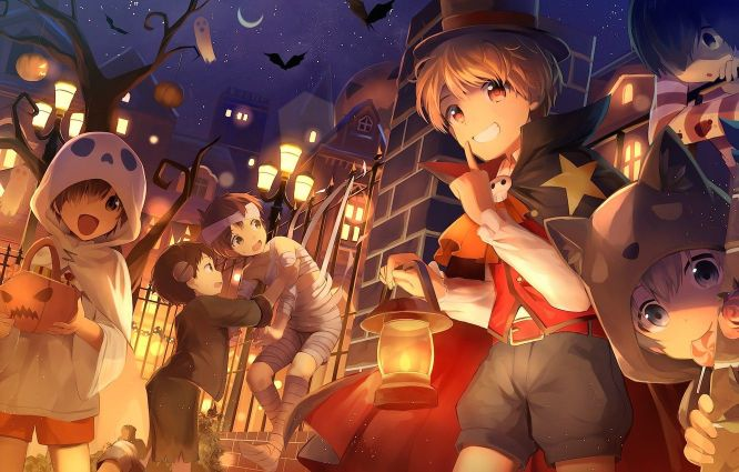 31+ Of The Best Anime Halloween Wallpapers To Make Your Day 17