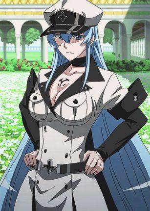 esdeath akame ga kill anime series