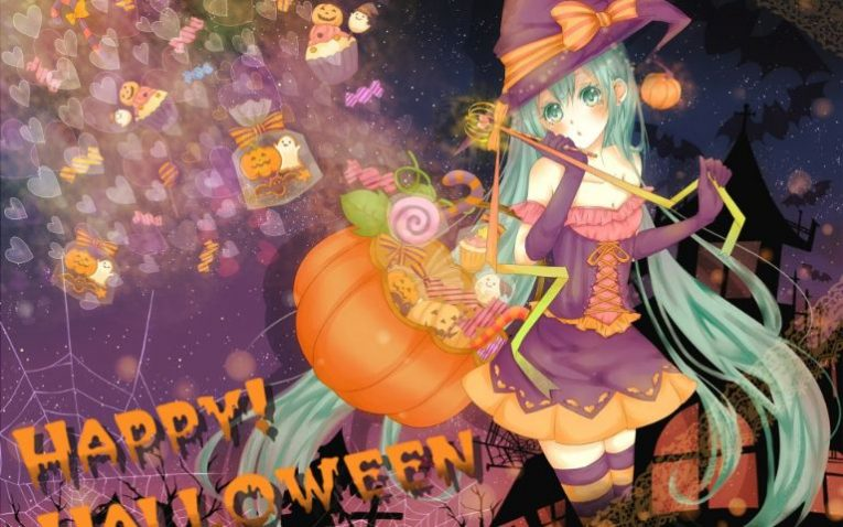 31+ Of The Best Anime Halloween Wallpapers To Make Your Day 12