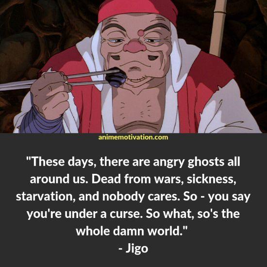 jigo quotes princess mononoke
