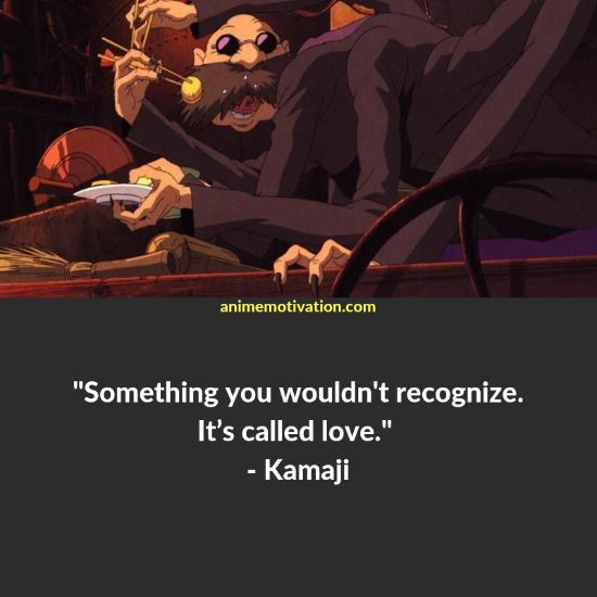 kamaji quotes spirited away