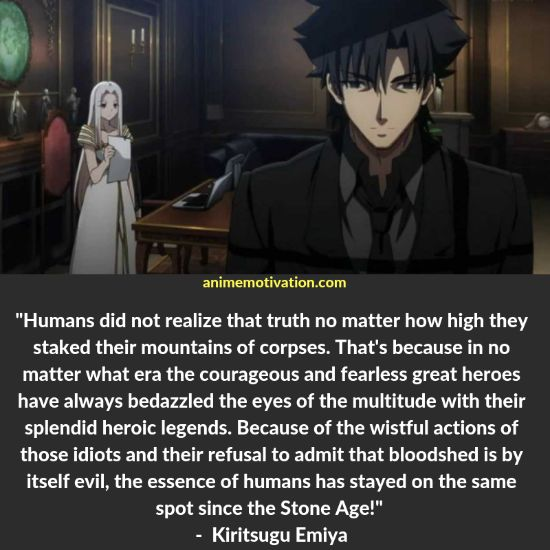 72+ Classic Fate Zero Quotes That Will Make You Think About Life 16