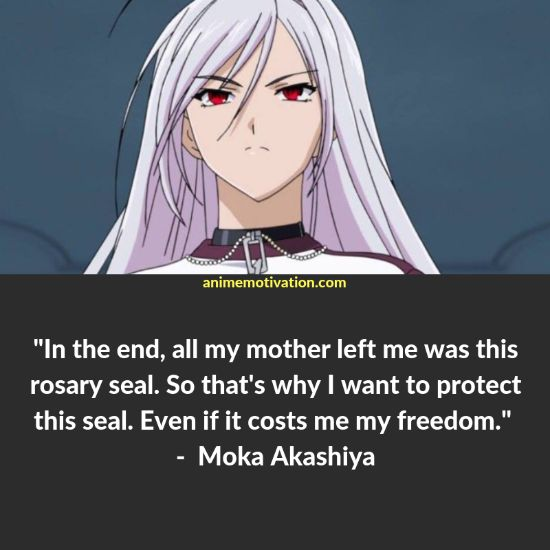 Here's A List Of The Best Rosario Vampire Quotes You Won't Forget! 16