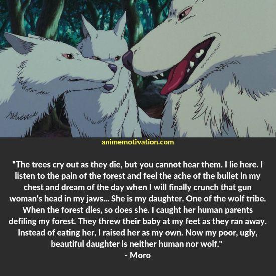moro quotes princess mononoke 1