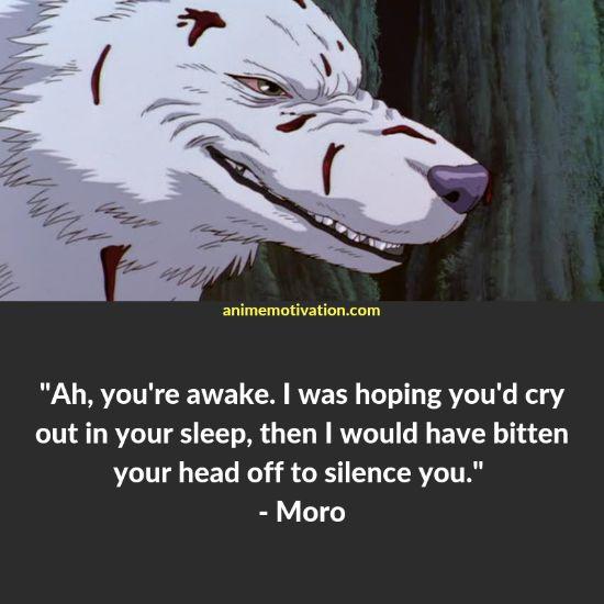 moro quotes princess mononoke 3
