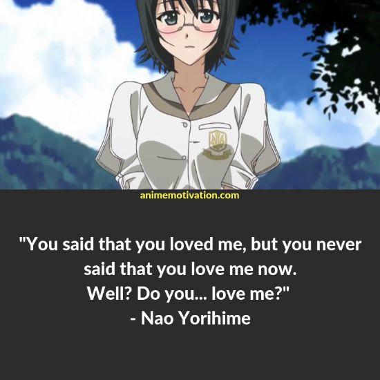 A Collection Of Memorable Anime Quotes From Yosuga No Sora! 4