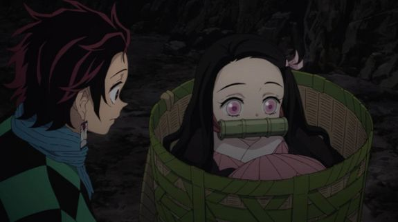 nezuko and tanjiro cute moments