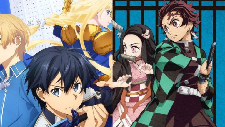 Sword Art Online + Demon Slayer Wins Newtype Anime Awards 2019