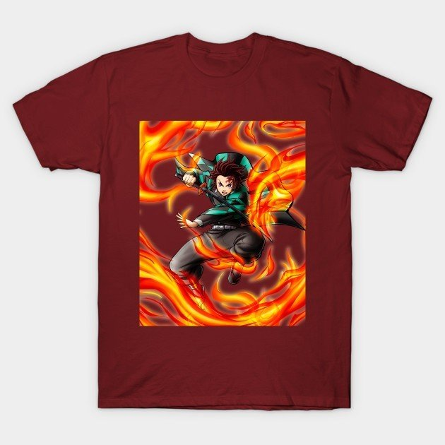 26+ Of The Coolest Demon Slayer T Shirts For Your Wishlist! 21