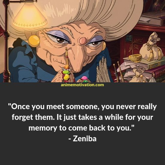 zeniba quotes spirited away 3