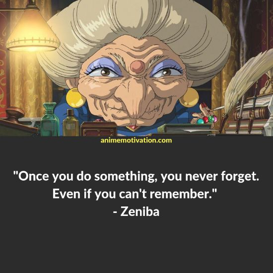 zeniba quotes spirited away