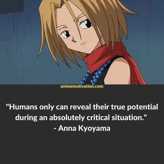 A Set Of 29+ Shaman King Quotes For Anime Fans Of The Series! 2