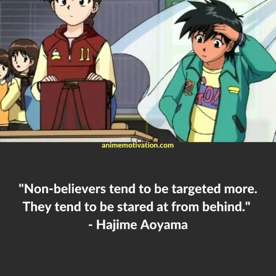 hajime aoyama quotes 1