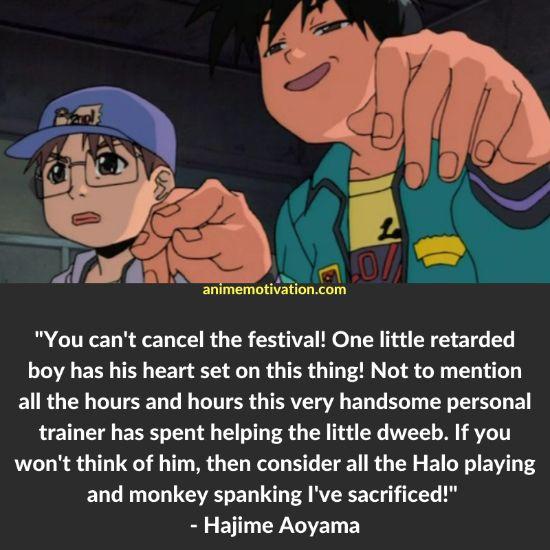 hajime aoyama quotes 2