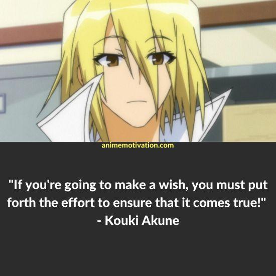 kouki akune quotes