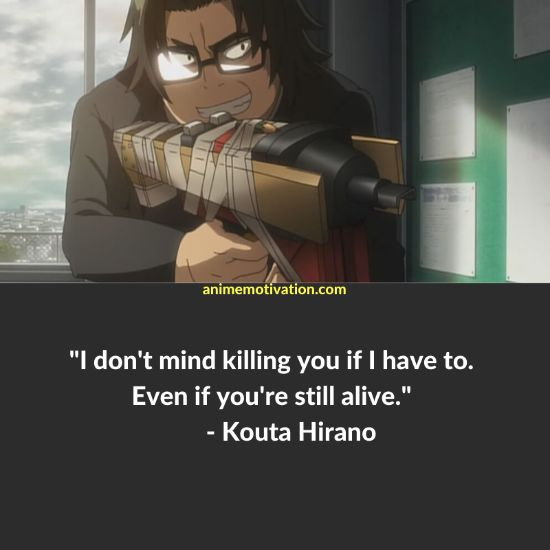 25+ Of The Greatest Quotes From Highschool of The Dead! 3