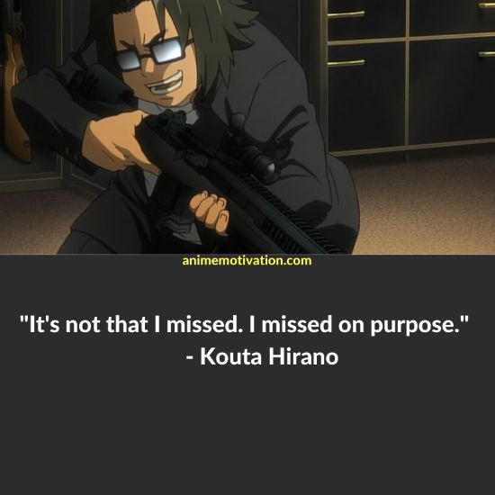 25+ Of The Greatest Quotes From Highschool of The Dead! 4