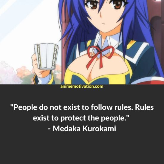 26+ Of The Greatest Medaka Box Quotes Of ALL Time! 6