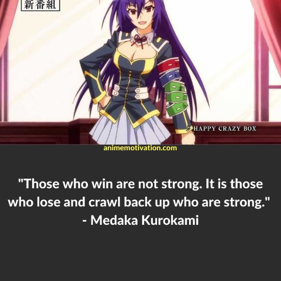 26+ Of The Greatest Medaka Box Quotes Of ALL Time! 1