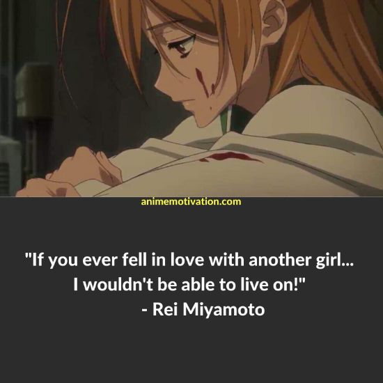 25+ Of The Greatest Quotes From Highschool of The Dead! 21