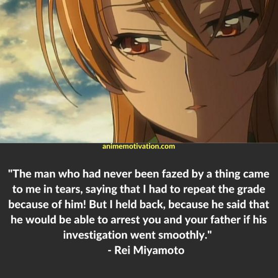 25+ Of The Greatest Quotes From Highschool of The Dead! 20