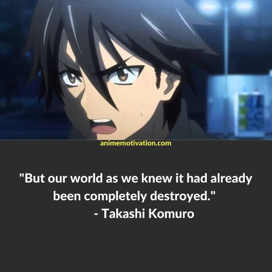 25+ Of The Greatest Quotes From Highschool of The Dead! 11