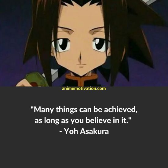A Set Of 29+ Shaman King Quotes For Anime Fans Of The Series! 6