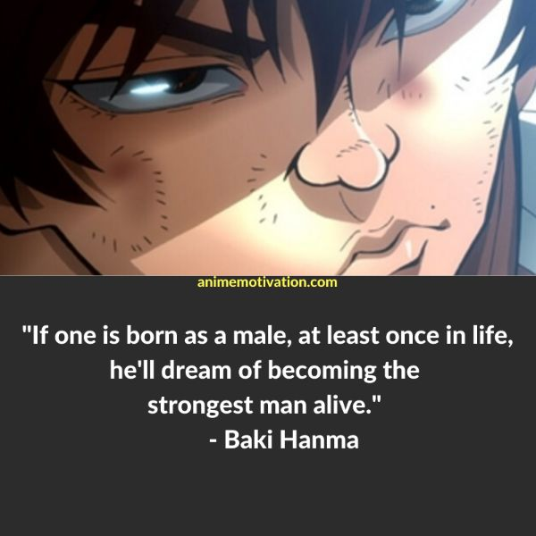 18+ GREAT Baki The Grappler Quotes Fans Will Love 9